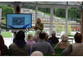 Doing a talk at Alnwick Gardens