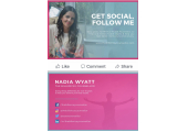 Follow me on All Socials<br />Get Social with Me for Mental Health Wellness