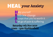 HEAL your Anxiety Workshop poster