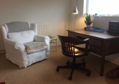 Therapy room at Rebecca Jackson Clinical Hypnotherapy