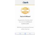 Bark gold award