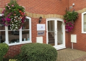External view of therapy room in central Winchester