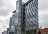 Picture of Princes Exchange. We are located on the first floor within the 'Regus office suite'