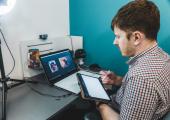 Working online via Zoom