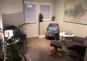 Therapy Room<br />100% confidential and relaxing therapy room