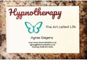 Business Card<br />hypnotherapist london