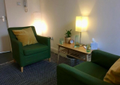 Therapy Room 2 Interior<br />Suite 4.4, 111 Union St, Glasgow, G1 3TA