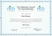 Item 5<br />Member of the National Council for Hypnotherapy