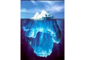 Iceberg<br />More going on underneath than meets the eye