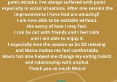 My favourite client testimonial!