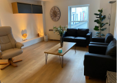 The Healthful Mind clinic group therapy room