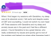 satisfied client review
