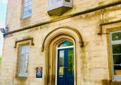 The Entrance Door for The Practice Rooms Sheffield