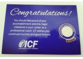 ICF accreditation ACC - awarded by the International Coaching Federation professional body