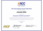 ICF ACC Certified Coach Accreditation<br />ICF ACC Certified Coach Accreditation Certificate