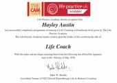 Life Coach Certificate