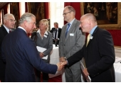 Meeting HRH Prince Charles, St. James Palace