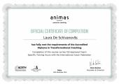 Animas Certificate