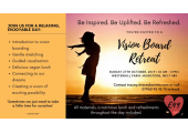 Vision Board Retreat - Sunday 27th October 2019 10am-4pm<br />A day of self-care and inspiration. Relax. Unwind. Dream.
