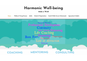 harmonicwellbeing.com site front page