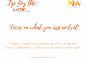 What's IN your control?