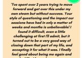 Testimonial - Closure