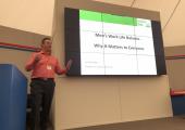 Presentation at Exxon Mobil, Fawley