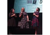 MFM - Olivia onstage at the Hammersmith Apollo November 2019