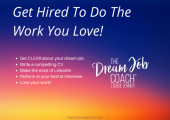 Get hired to do the work you love!