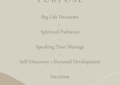 How I can Help - Purpose