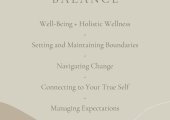 How I can Help - Balance