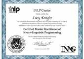 Certified Master Practitioner of NLP