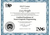 Certified Practitioner of NLP