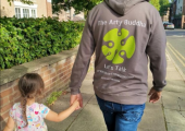 End of nursery day dad & daughter walk