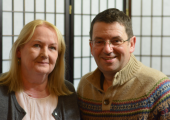 Christine an accredited counsellor and Andrew an accredited coach and mentor.