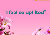 """It's great to hear your client say """"I feel so uplifted"""" following a coaching session."""