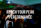 Reach your peak performance beat performance nerves and stage fright