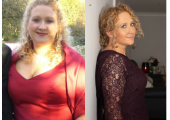 Before and after my 7 stone weight loss