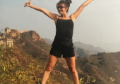 Adventures on Great Wall of China