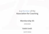 Certificate of AFC membership