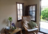 The lovely relaxing Therapy Room