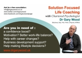 Solution Focused Life Coaching with Dr Gary Wood