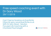 Dr Gary Wood -  Solution Focused Life Coaching with a Chartered Psychologist image 6