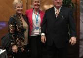 Glenda Bandler, June O'Driscoll, Dr Richard Bandler (Co-creator of NLP)