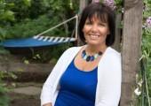 Sue Lewis<br />My garden hammock!