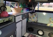 Zebedee the Coaching Campervan - Kettle's on!