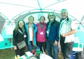 Exploring Soil - June 2017<br />Our Stand at Groundswell - with Dr Christine Jones and David and Ann Montgomerye