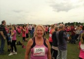 Running 5K Race for Life York 2015