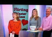 Alison on This Morning - Leading a Flirting Master Class