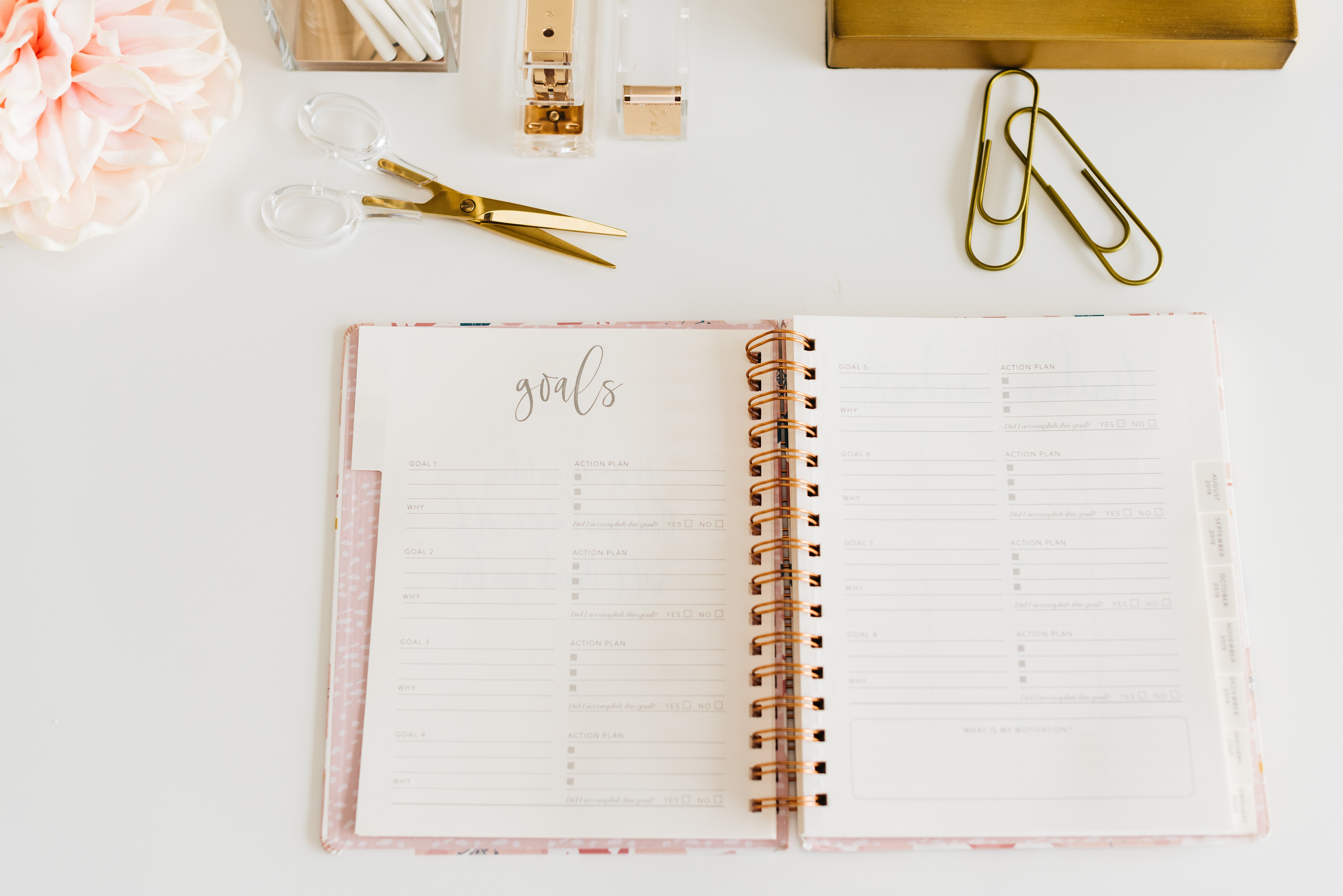 5 top tips for journaling for success